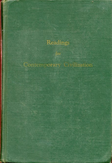 Image for Readings for Contemporary Civilization