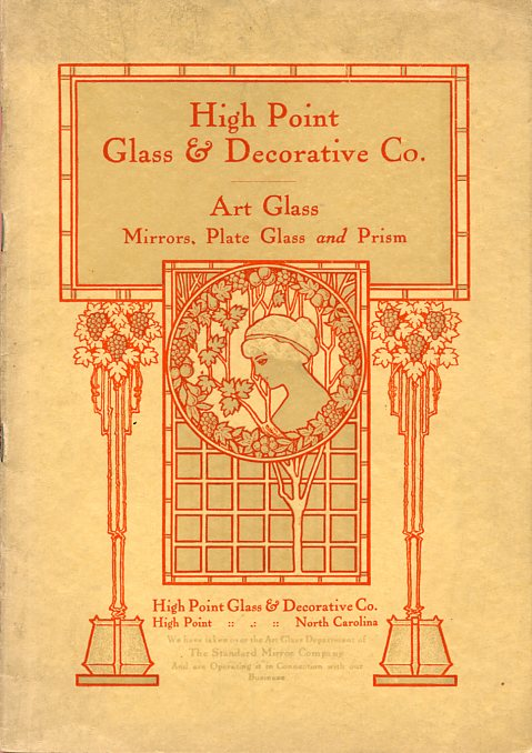 Image for Decorative Art Glass Catalogue No. 500; High Point Glass & Decorative Co.