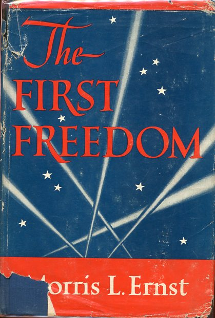 Image for The First Freedom (signed)