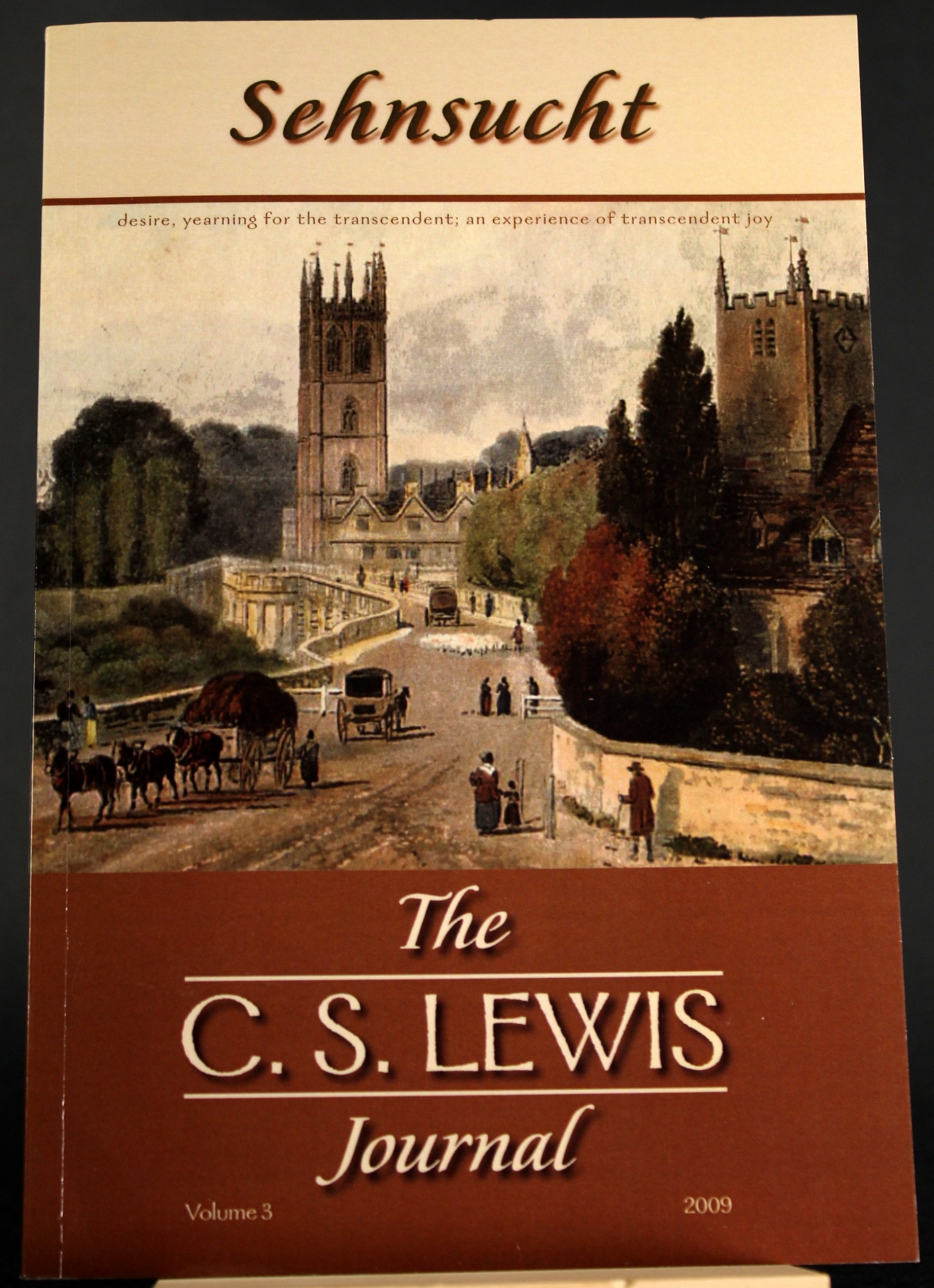 Image for Sehnsucht: The C. S. Lewis Journal, Volume 3 (Sehnsucht: C.S. Lewis Journal)