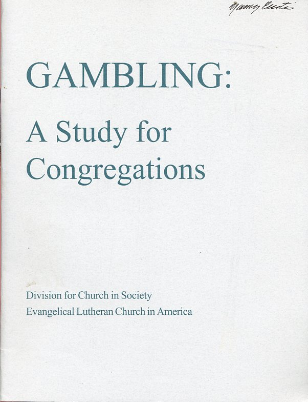 Image for Gambling: A Study for Congregations