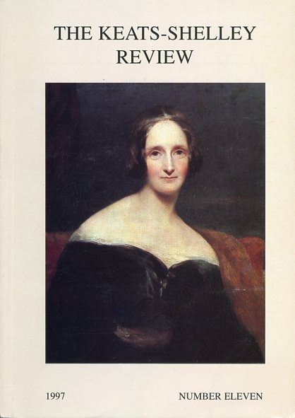 Image for The Keats-Shelley Review, Number 11