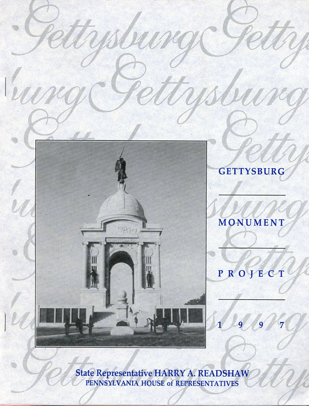 Image for Gettysburg Monument Project 1997