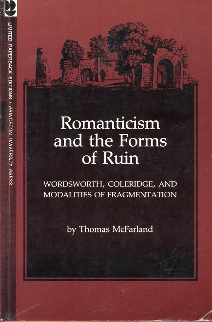 Image for Romanticism and the Forms of Ruin: Wordsworth, Coleridge and Modalities of Fragmentation