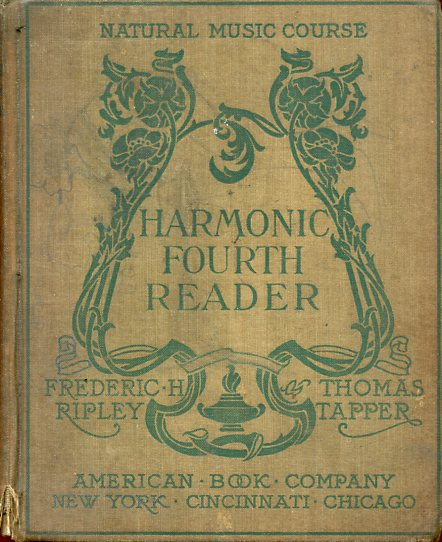 Image for Harmonic Fourth Reader (Natural Music Course)