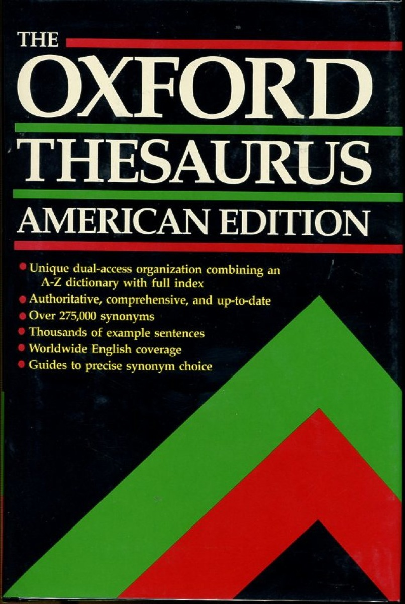 Image for The Oxford Thesaurus: American Edition