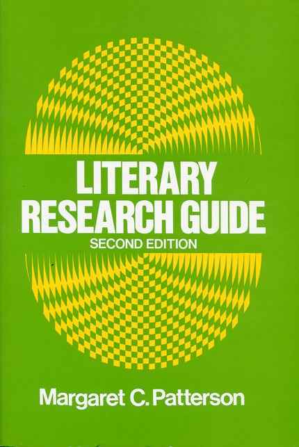Image for Literary Research Guide