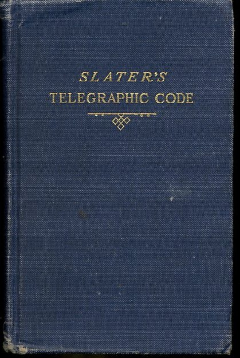 Image for Telegraphic Code, to Ensure Secresy in the Transmission of Telegrams