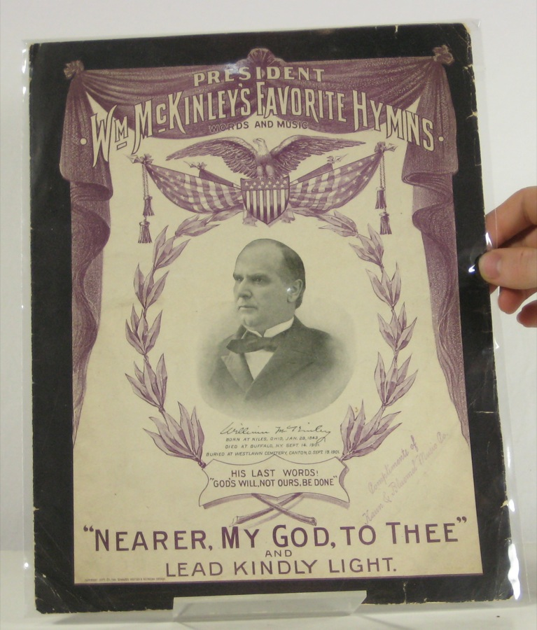Image for President Wm McKinley's Favorite Hymns: Nearer my God to Thee and Lead Kindly Light