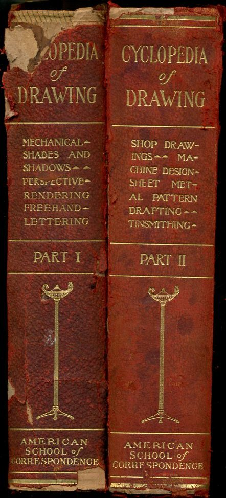 Image for Cyclopedia of Drawing Parts 1 and 2, Two Volumes