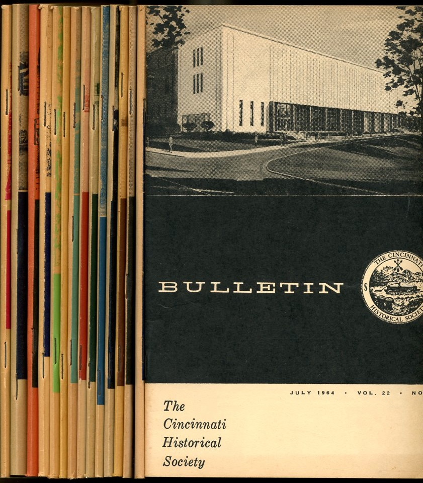Image for Bulletin The Cincinnati Historical Society (15 booklets)