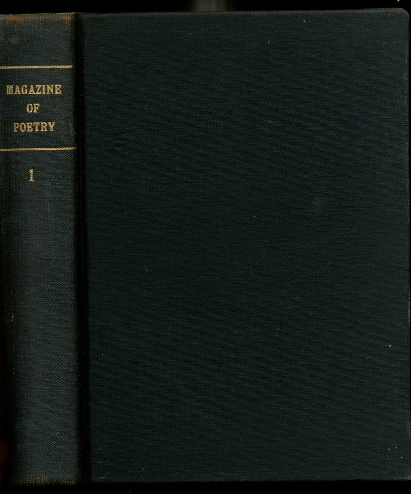 Image for The Magazine of Poetry A Quarterly Review Volume 1: Numbers 1,2 and 3 (January through October of 1889)