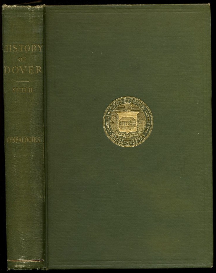 Image for The Genealogical History of Dover, Massachusetts (inscribed by author)