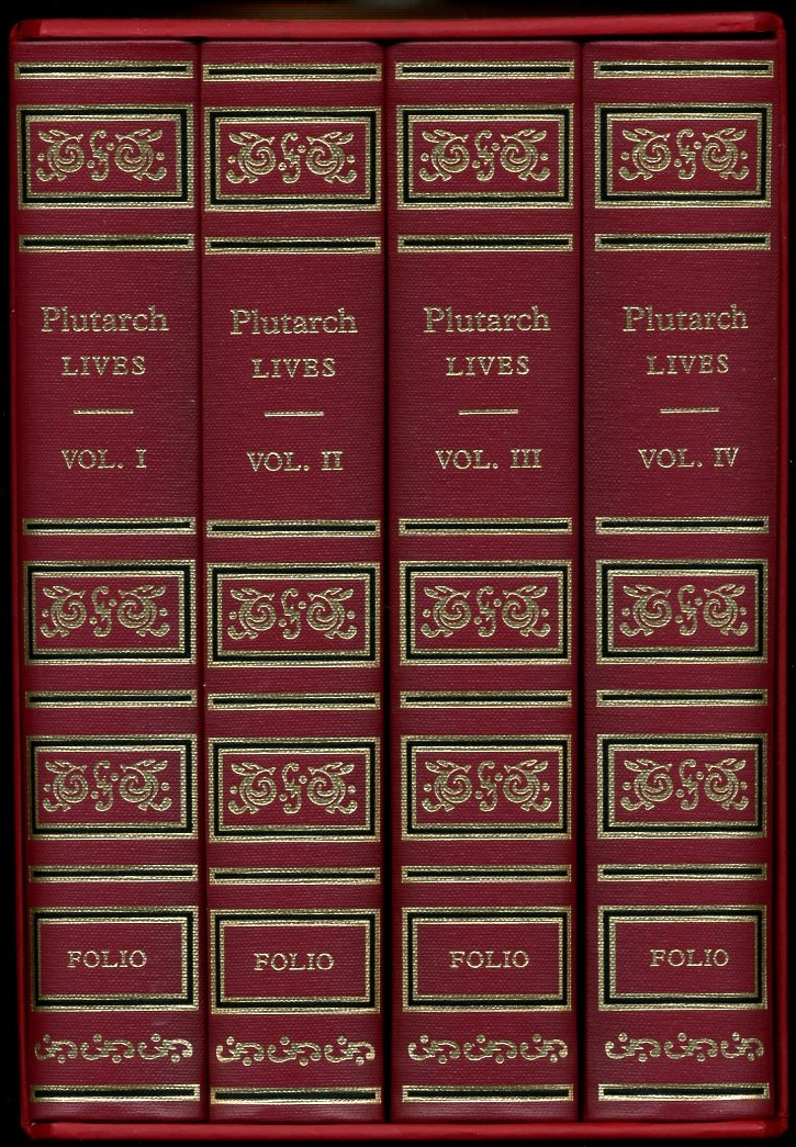 Image for Plutarch Lives 4 volumes