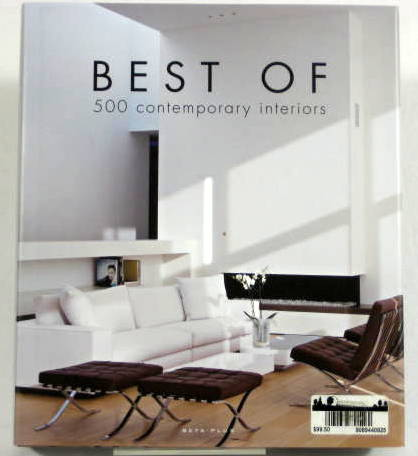 Image for Best of 500 Contemporary Interiors (First Edition)