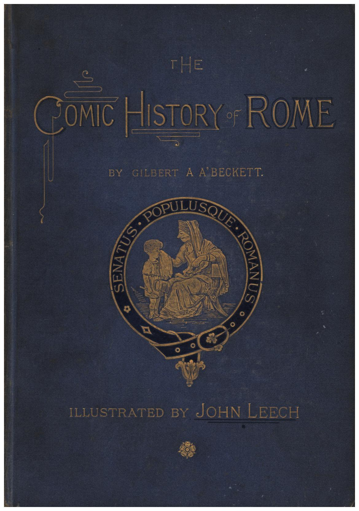 Image for The Comic History of Rome and England in 3 volumes