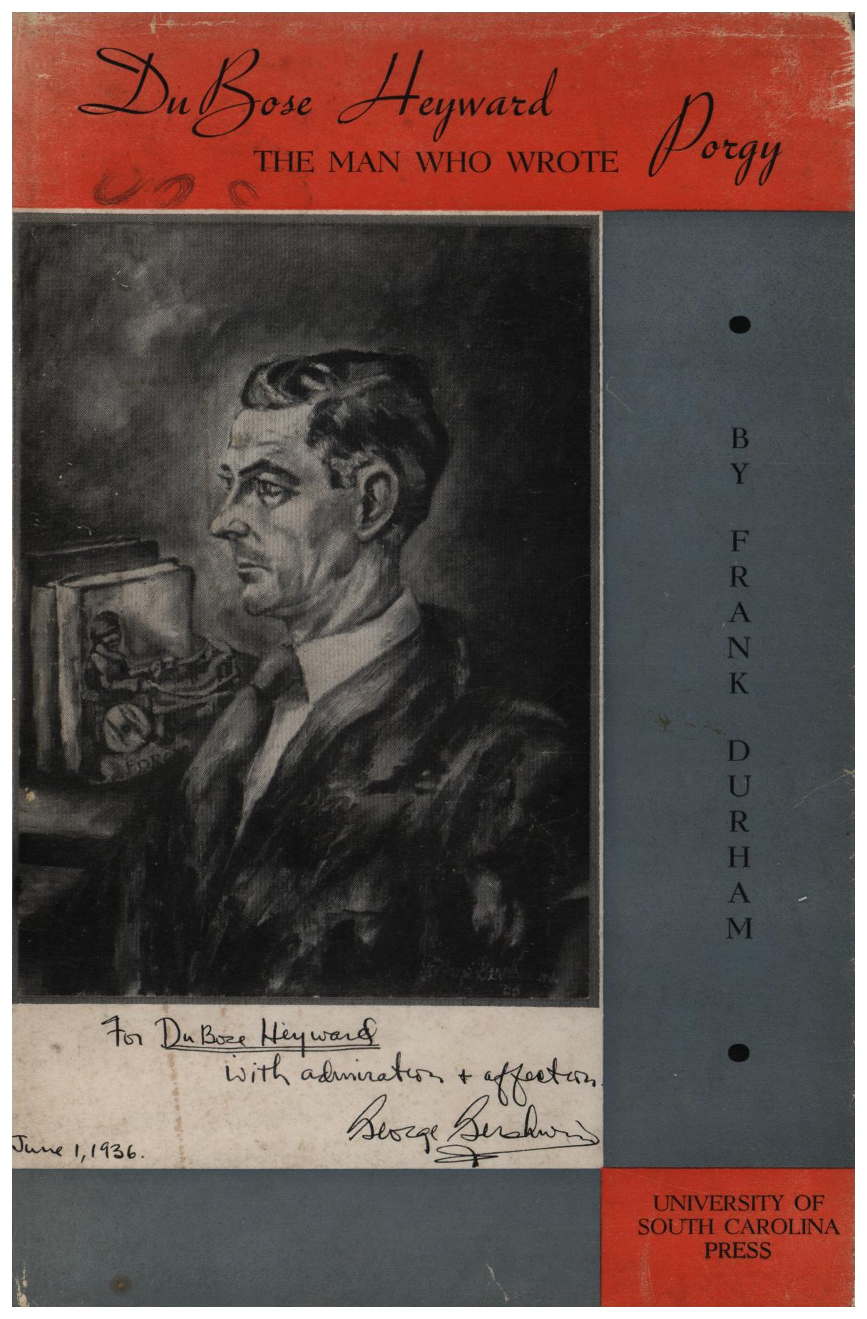 Image for DuBose Heyward: The Man Who Wrote Porgy (First Edition)