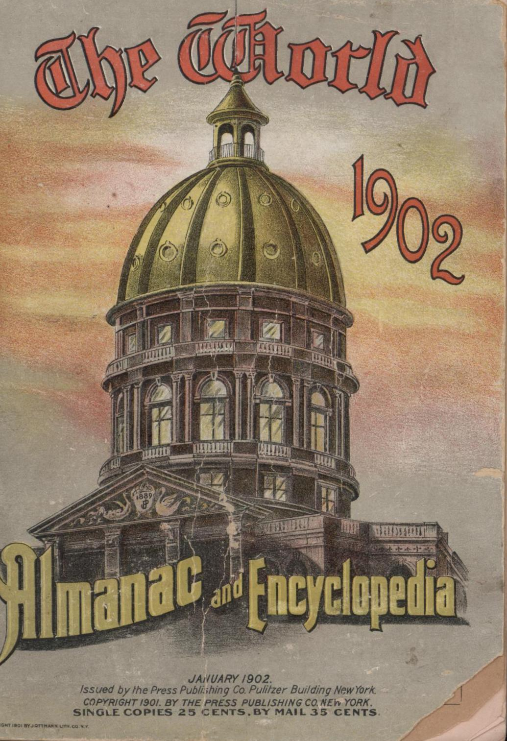 Image for The 1902 World Almanac and Encyclopedia (First Edition)