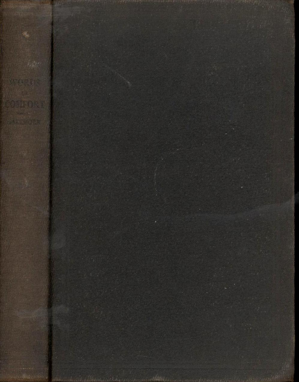 Image for Words of Comfort (First Edition)