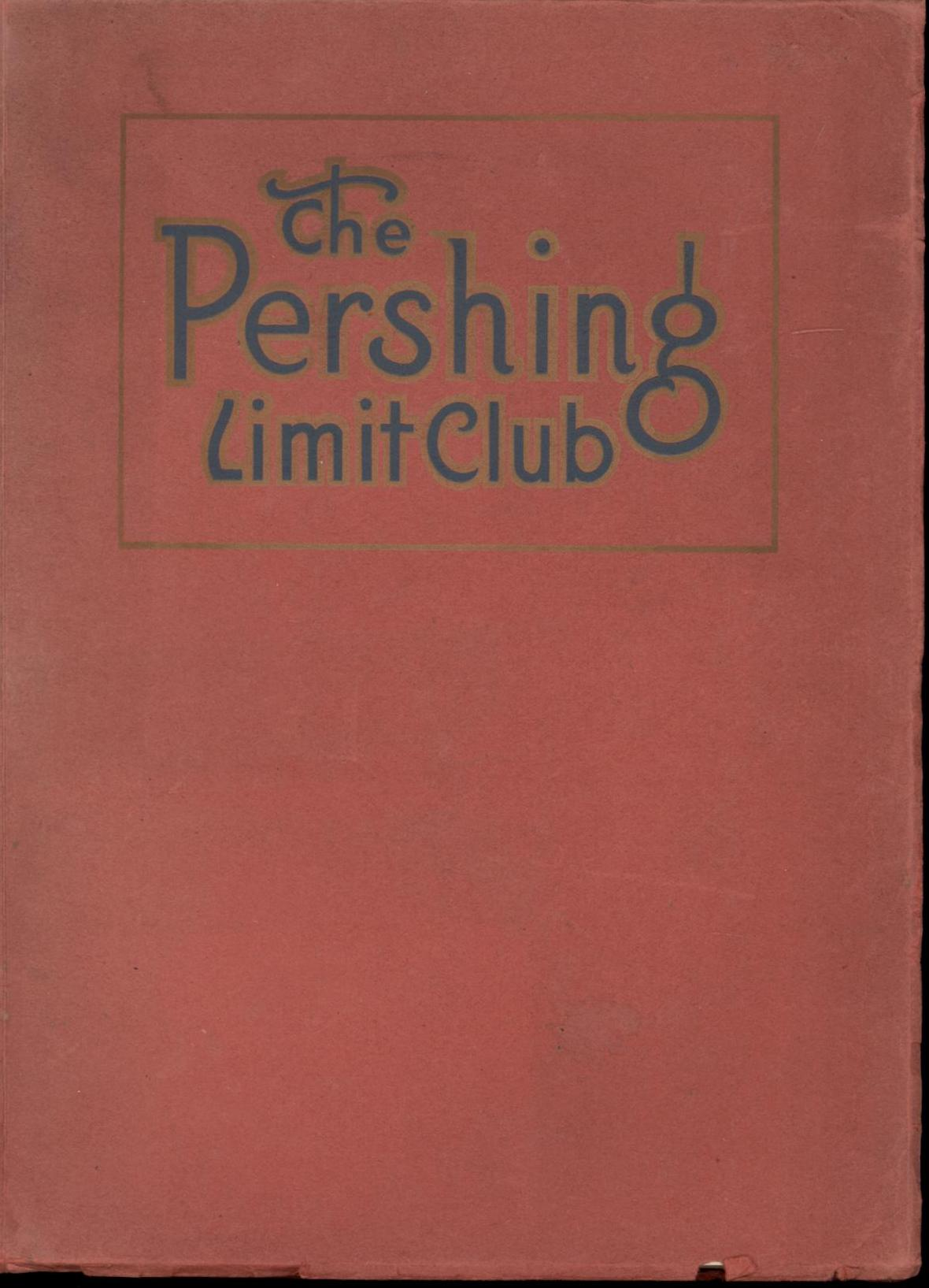 Image for The Pershing Limit Club: An American Roll of Honor (First Edition)