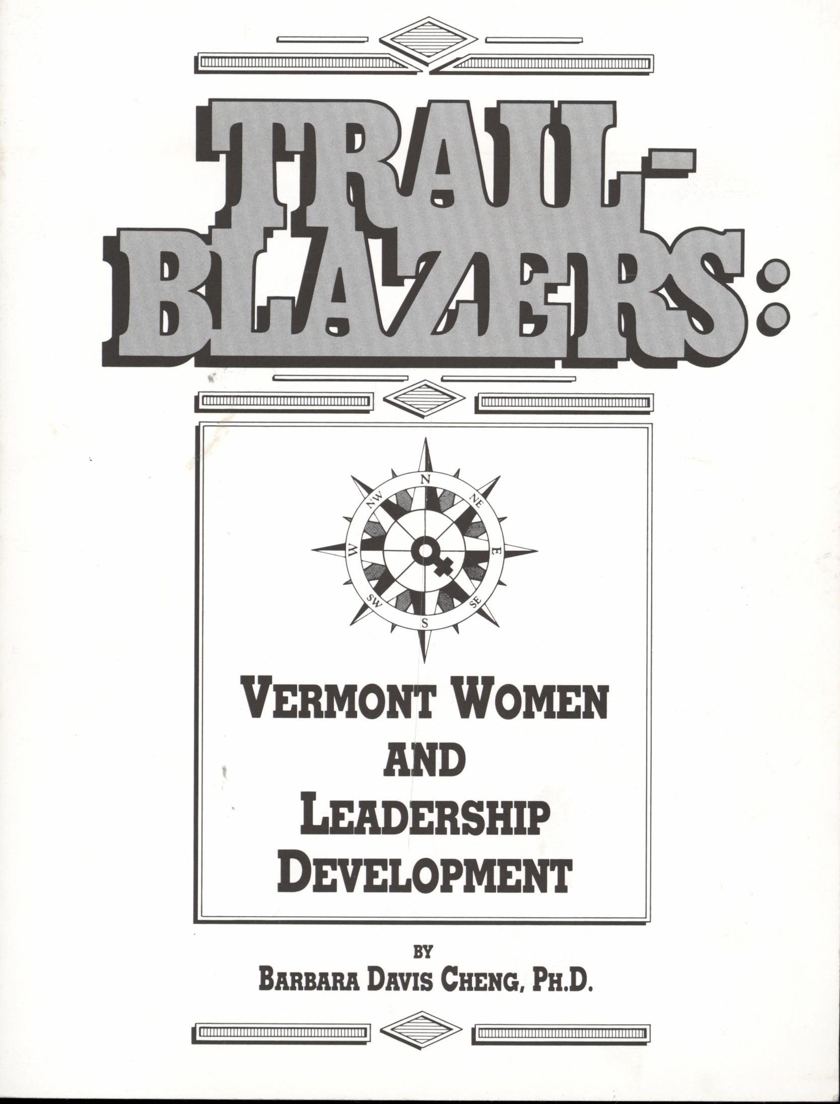 Image for Trail-Blazers: Vermont Women and Leadership Development (Signed First Edition)