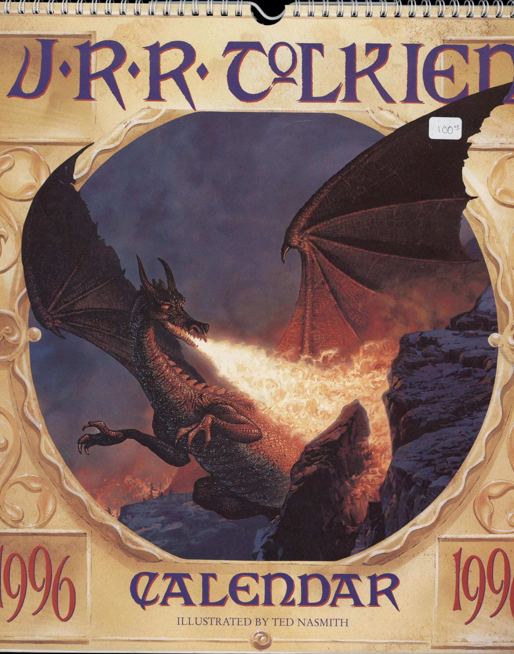 Image for 1996 J. R. R. TOLKIEN CALENDAR (First Edition)