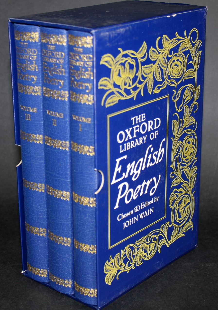 Image for The Oxford Library of English Poetry (3 volumes)