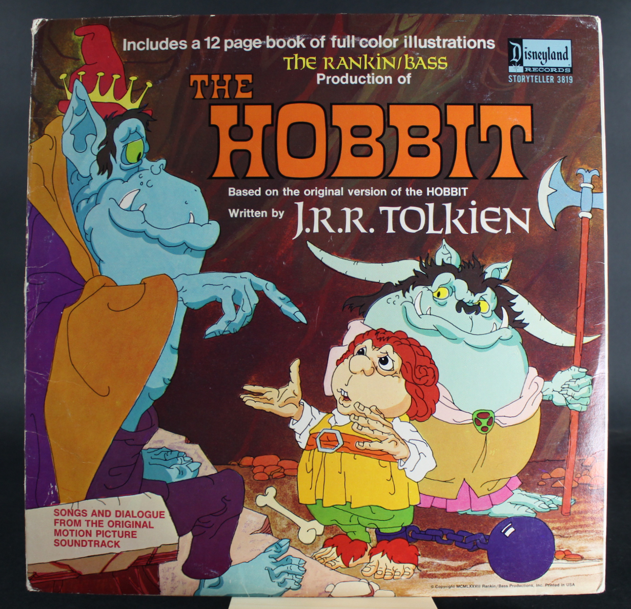 Image for The Hobbit  LP record RANKIN/BASS,
