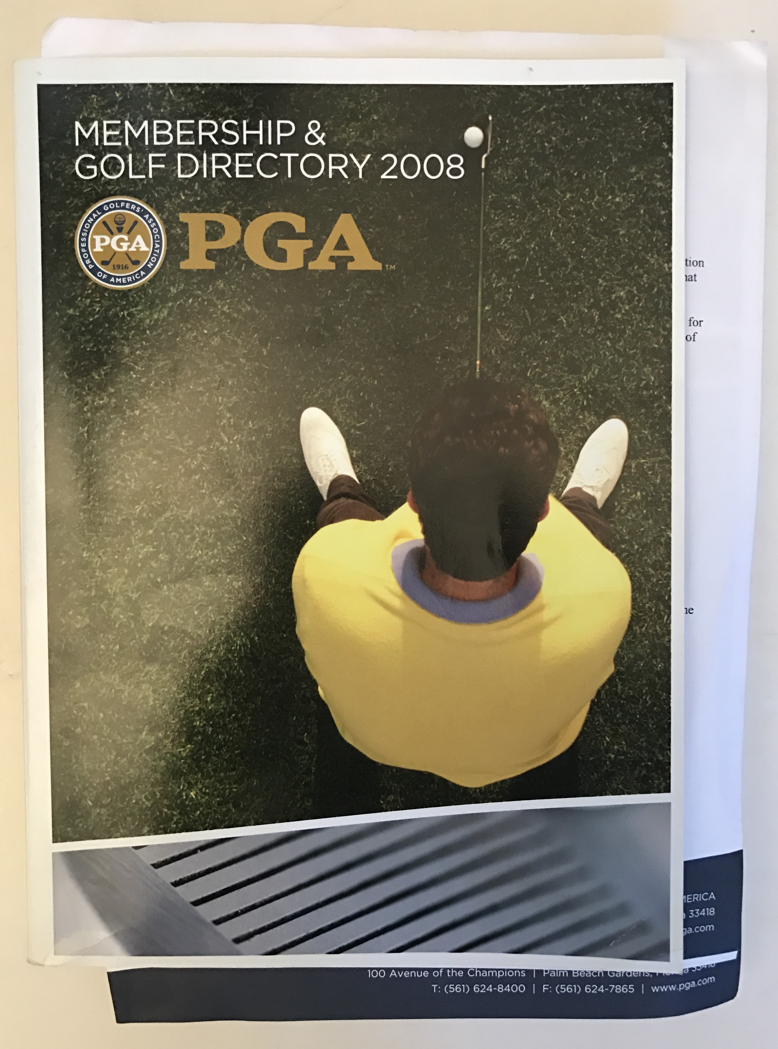 Image for PGA 2008 Membership and Golf Directory