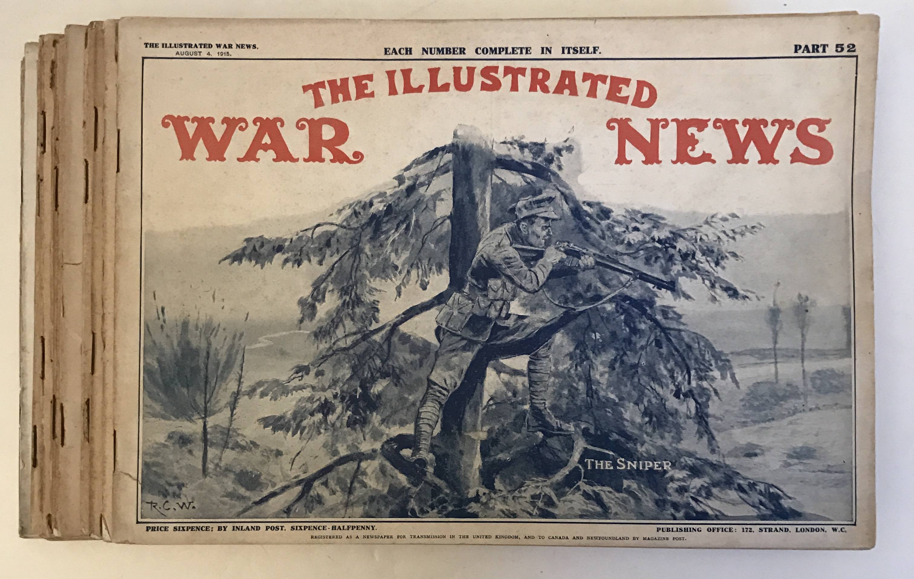 Image for 13 Copies of The Illustrated War News