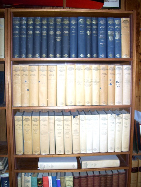 Image for Horace Walpole's Correspondence (First Edition) 48 volumes in 47