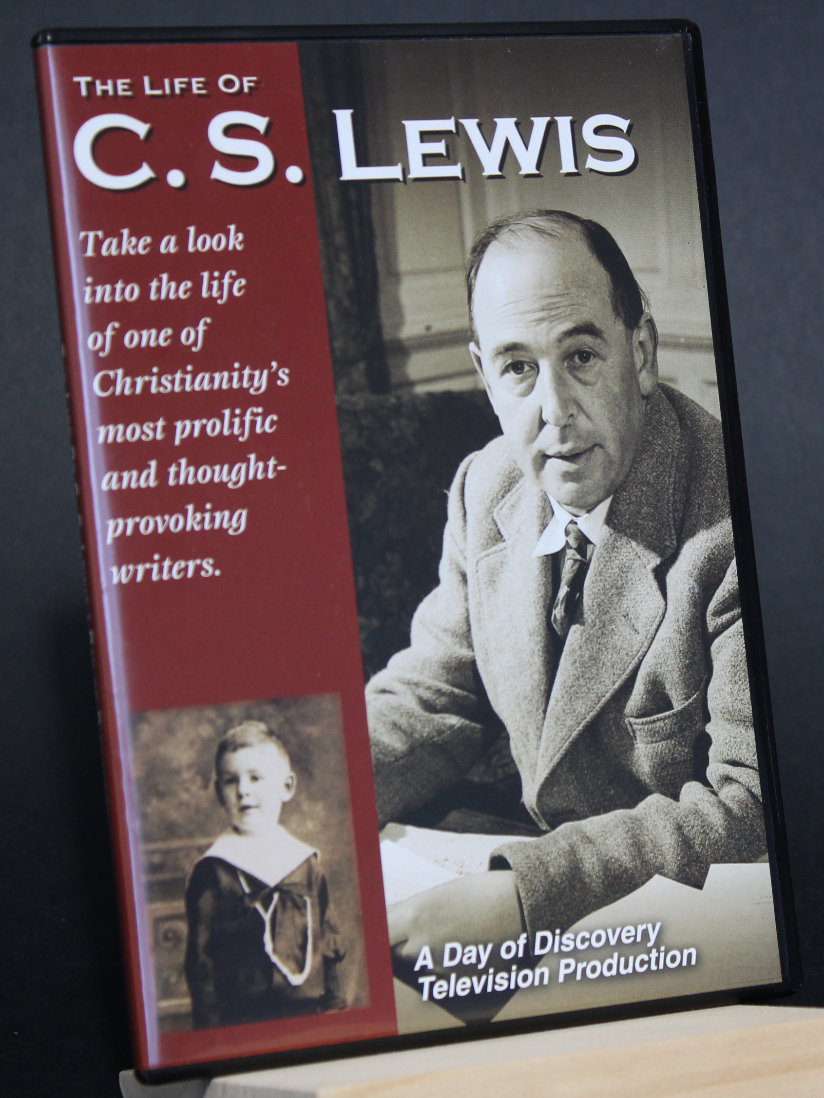 Image for A DAY OF DISCOVERY, The Life of C. S. Lewis  DVD