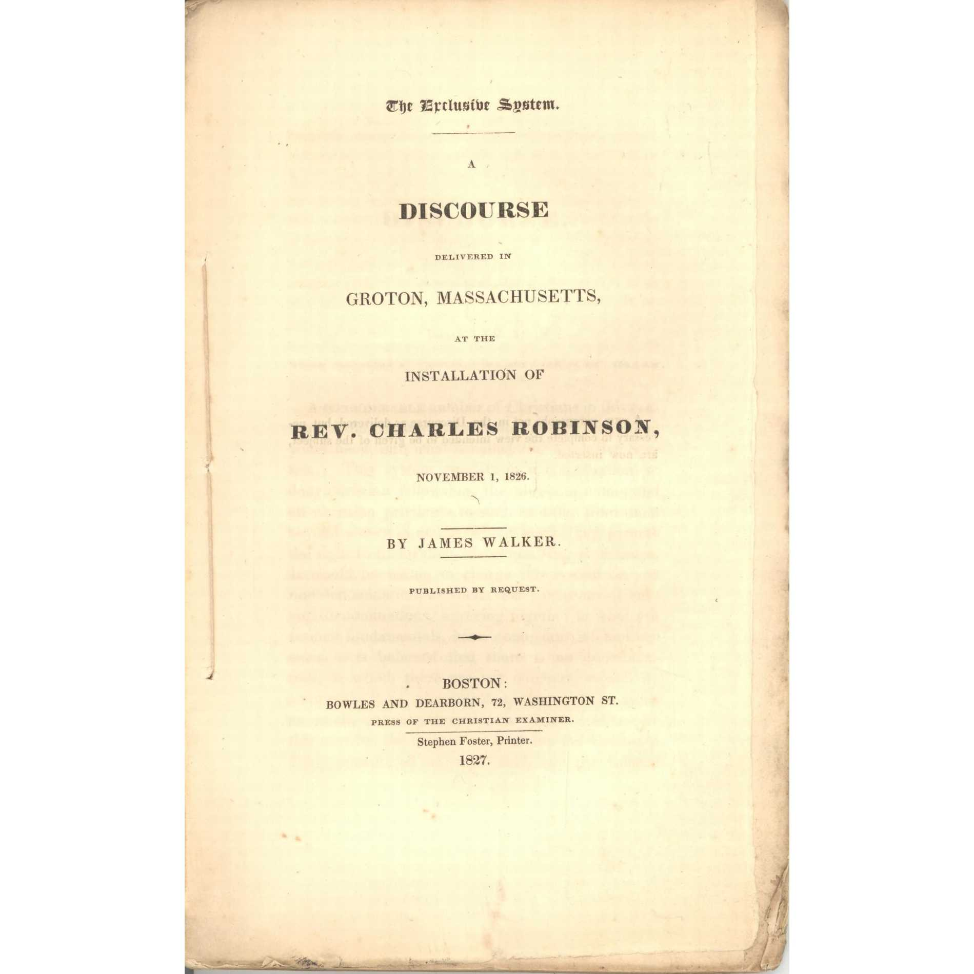 Image for A Sermon Preached in St. Paul's Church, Boston, before Massachusetts Episcopal Missionary Society 6/15/1825... with 3rd Annual Report of (Society)