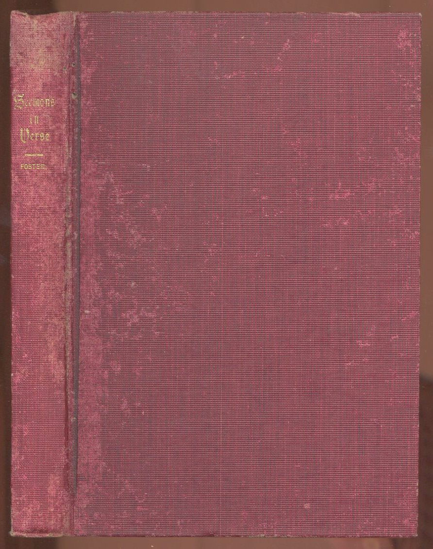 Image for Sermons in Verse (First Edition)