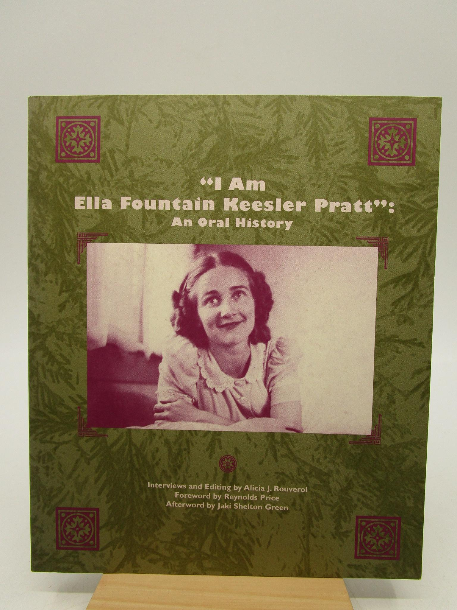 Image for I Am Ella Fountain Keesler Pratt: An Oral History (First Edition)