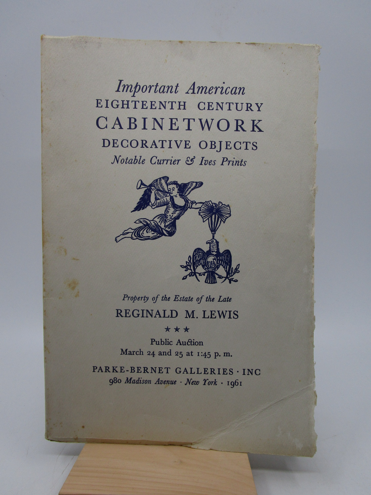 Image for Important American Eighteenth Century Cabinetwork Decorative Objects Notable Currier & Ives Prints