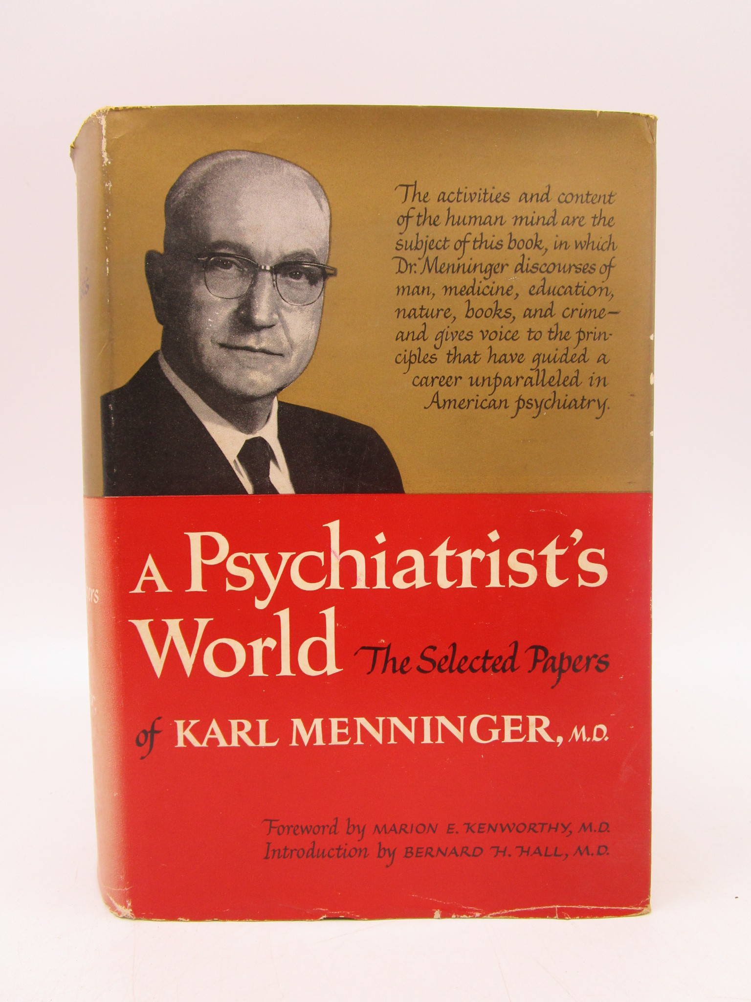 Image for A Psychiatrist's World (inscribed)