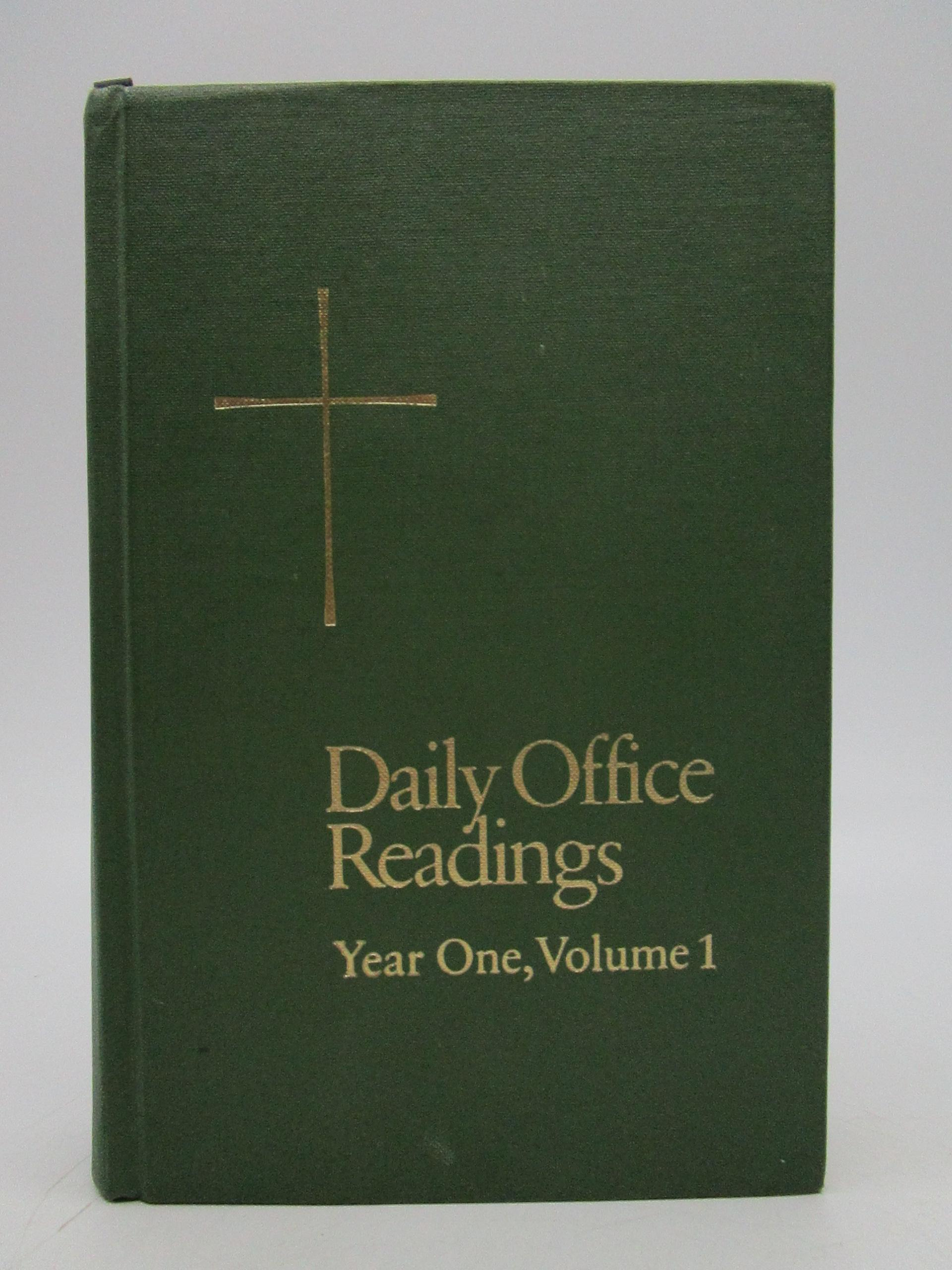 Image for Daily office readings, Year One (Two Volume Set)