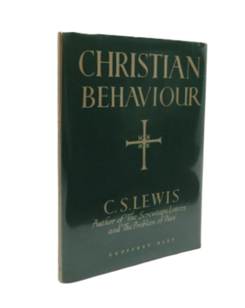 Image for Christian Behaviour (Signed first edition)