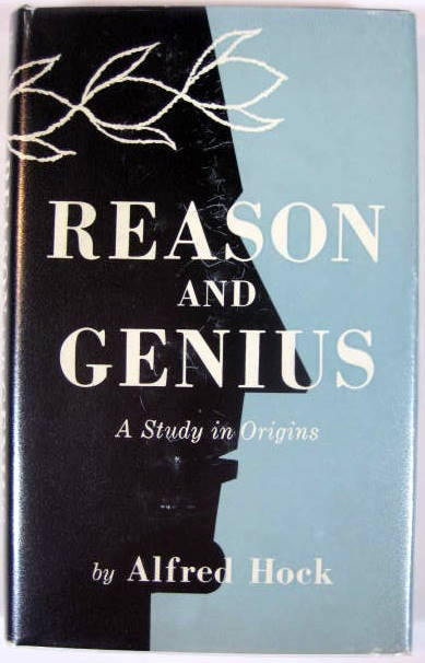 Image for Reason and Genius; A Study in Origins