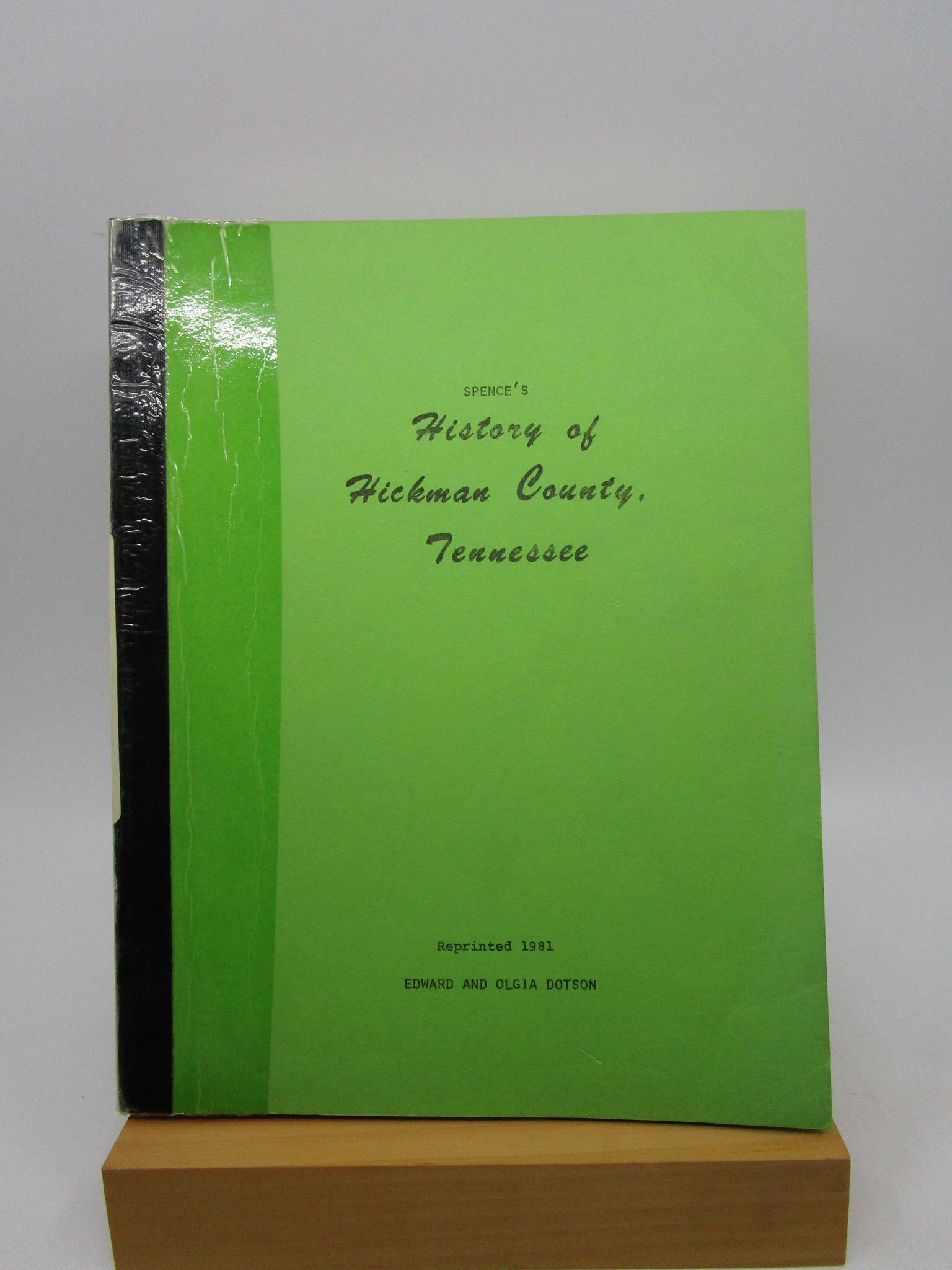 Image for History of Hickman County, Tennessee