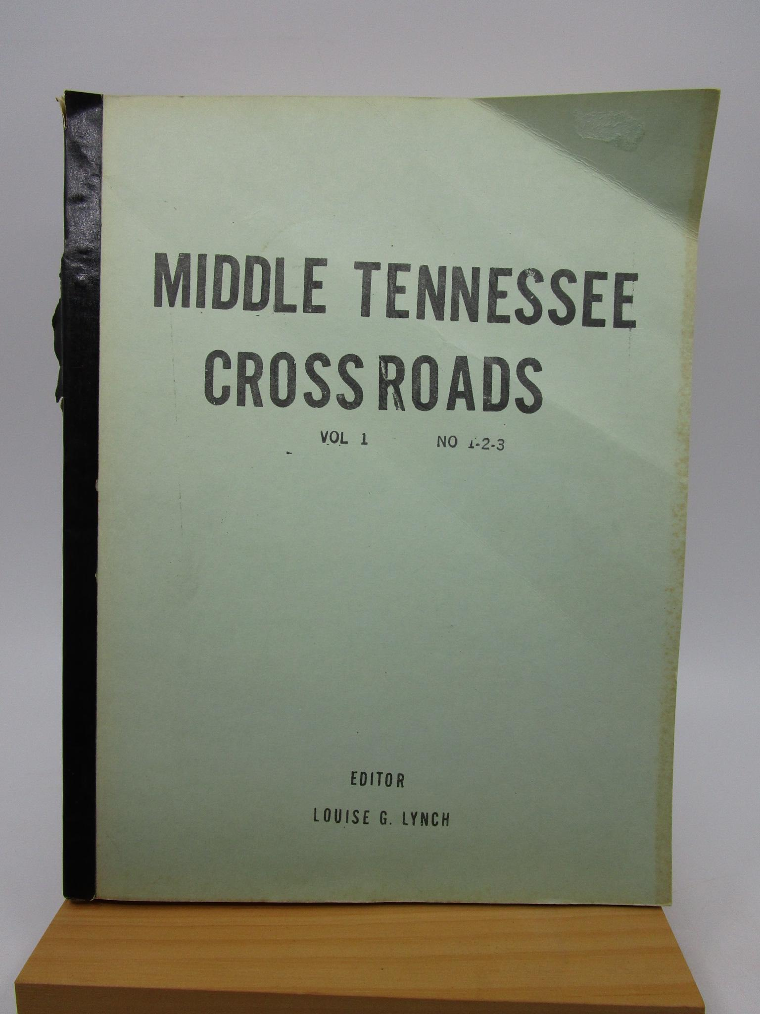 Image for Middle Tennessee Crossroads - Vol 1 No 1-3