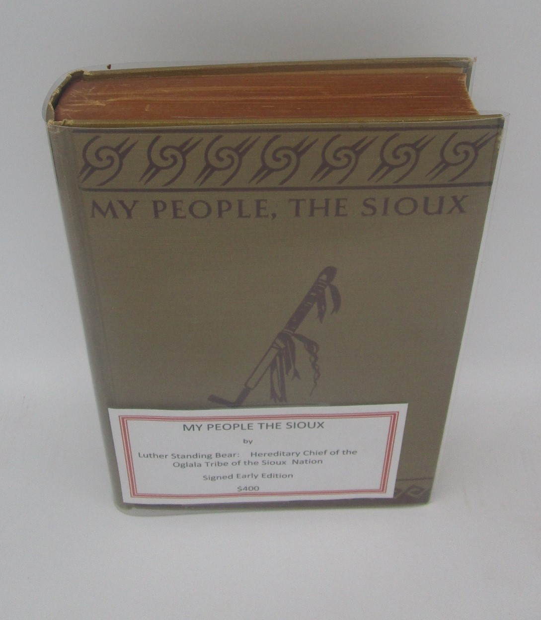 Image for My People the Sioux (Signed)