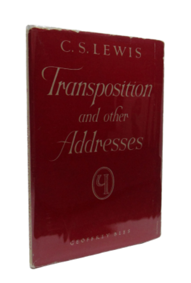 Image for Transposition and Other Addresses (Signed first edition)
